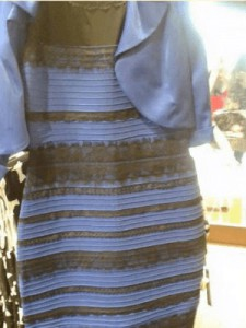The dress at the centre of the colour debate
